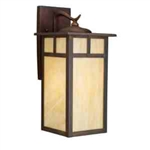 Kichler 9148CV Outdoor Light, Arts and Crafts/Mission Wall 1 Light Fixture - Canyon View