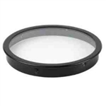 Kichler 9534BK Outdoor Light, Original Accessory Lens Fixture - Black Material (Not Painted)