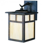 Kichler 9651CV Outdoor Light, Arts and Crafts/Mission Wall 1 Light Fixture - Canyon View