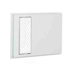 Cadet ACH5 Wall Heater Grill for Apex72 Heaters, Hexagonal Design - White (5 Pack)