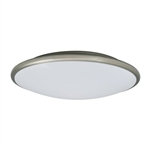 Amax Lighting LED-M00 Euro Style Saucer Flush Mount Ceiling Fixture