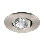 "Ark Lighting 2"" Low Voltage Trim with Gimbal Ring-Satin Aluminum"