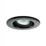 "Ark Lighting 2"" Low Voltage PUC Trim with Gimbal Ring-Black"