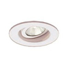 "Ark Lighting 2"" Low Voltage Trim with Recessed Gimbal Ring-White"