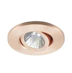 "Ark Lighting 2"" Low Voltage Trim with Gimbal Ring-Satin Copper"