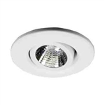 "Ark Lighting 2"" Low Voltage Trim with Gimbal Ring-White"