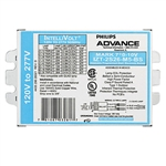 Advance Mark 7 0-10V IZT-2S26-M5-BS (2) Lamp - 26 Watt CFL - 120/277 Volt - Dimming - 1.0 Ballast Factor