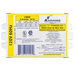 Advance Mark 10 Powerline REZ-2Q18-M2-BS (2) Lamp - 18 Watt CFL - 120 Volt - Dimming - 1.0 Ballast Factor