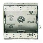 Bd3-3/4 Weatherproof Double Outlet 3 Hole Box 3/4""