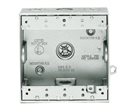 Bd7-3/4 Weatherproof Double Outlet 7 Hole Box 3/4""
