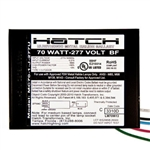 Hatch Mini MC70-1J-277U 70 Watt - 277 Volt - Electronic Metal Halide Ballast - Bottom Feed Mounting With Studs