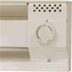 Cadet BTF2A Thermostat Kit 25A Double Pole for Baseboard Heaters - Almond
