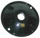 C100B Weatherproof Cover Round 1 Hole Black