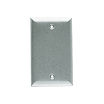 Cr1 Weatherproof Cover Rectangular Blank Single Gang