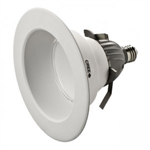 "Cree Lighting CR6-800L-30K-12-E26 LED Downlight, 6"" Recessed 120V E26 Base 3000K Dimmable - 800 Lumens"