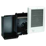 Cadet CSC122W Wall Heater, 1250W 240/208V Com-Pak Heater Assembly w/Wall Can & Grill - White