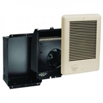 Cadet CSC152A Wall Heater, 1500W 240/208V Com-Pak Heater Assembly w/Wall Can & Grill - Almond