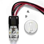 Cadet CTT2W Thermostat Kit 22A Double Pole Heat Only for Com-Pak Series - White
