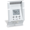 Smart-Base Double Pole Programmable Thermostat Baseboard Heaters-White