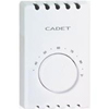 Cadet Single Pole Heat Thermostat-White