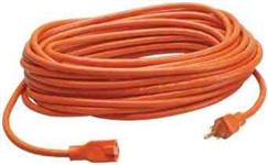 Coleman Cable 100 Ft. 16-3 Outdoor Extention Cord-Orange