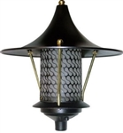 Dabmar D8000-B Cast Aluminum Flair Top Pagoda Light Black
