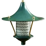 Dabmar D8000-G Cast Aluminum Flair Top Pagoda Light Green
