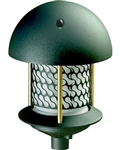 Dabmar D8100-B  Cast Aluminum Round Top Pagoda Light Black