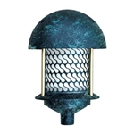 Dabmar D8100-VG Cast Aluminum Round Top Pagoda Light Verde Green