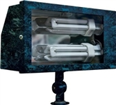 Dabmar DF5675-VG Solid Brass Area Flood Light Verde Green