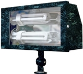 Dabmar DF5685-VG Solid Brass Area Flood Light Verde Green