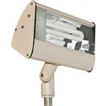 Dabmar DF5970-SAND Cast Aluminum Area Flood Light Sand