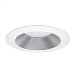 "DMF EL50SWR 5"" Silver Reflector with White Ring for LED Module"