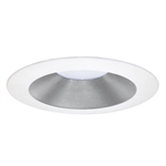 "DMF EL60SWR 6"" Silver Reflector with White Ring for LED Module"