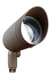 Dabmar DPR20-HOOD-BZ Cast Aluminum Directional Spot Light with Hood Bronze