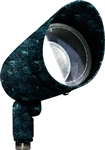 Dabmar DPR20-HOOD-VG Cast Aluminum Directional Spot Light with Hood Verde Green
