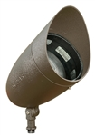 Dabmar DPR38-HOOD-BZ Cast Aluminum Directional Spot Light with Hood Bronze