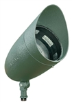 Dabmar DPR38-HOOD-VG Cast Aluminum Directional Spot Light with Hood Verde Green