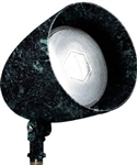Dabmar DPR38-VG Cast Aluminum Directional Spot Light Verde Green