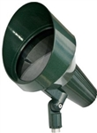 Dabmar DPR40-HOOD-G  Cast Aluminum Directional Spot Light with Hood Green