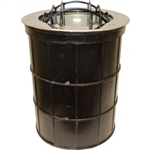 Dabmar DW1215 Stainless Steel In-Ground Well Light Stainless Steel