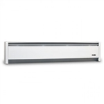"Cadet EBHN750W Baseboard Heater, 47"" 750W 240/208V SoftHEAT Hydronic w/Left Hand Wire - White"