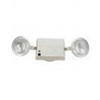 Elco Lighting 120-277V Emergency Light with Side Light and Battery Backup