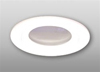 "Elco Lighting 3"" Low Voltage Diecast Shower Trim with Diffused Glass Lens-White"