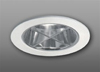 "Elco Lighting 3"" Low Voltage Trim with Cross Blade Chrome Reflector-White"