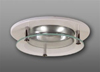 "Elco 3"" Low Voltage Trim with Suspended Glass Lens and Chrome Reflector-White"