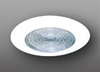 "Elco Lighting 5"" Compact Fluorescent Shower Trim with Fresnel Lens-White"