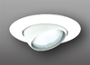 "Elco Lighting 5"" Line Voltage Eyeball Trim with Ring-All White"