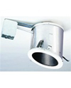 "Elco Lighting 6"" Line Voltage Remodel Sloped Non-IC Housing"