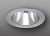 "Elco Lighting 4"" Line Voltage Trim with Reflector-Clear Brushed Nickel"